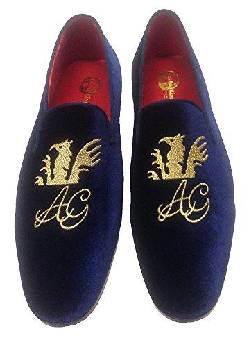 scarpe uomo slippers in velluto con logo e iniziali personalizzabili Toma De La Mejor Venta Envío Libre De Descuento Footlocker En Línea Auténtico Muy Barato Venta En Línea r1KzEhg