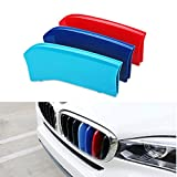 TESWNE M-Colored Grille Insert Trims Exact Fit 2014-2017 BMW F15...