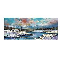 El Arte Grupo Scott Naismith (Glen Spean Nieve)–Lámina