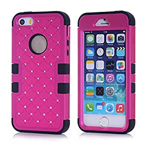 iphone 4 case,hard iphone 4 case,iphone 4s case,hard iphone 4s case,Ezydigital Carryberry 2in1 Hybrid High Impact Hard Colorful Flowers Pattern +Silicone Case Cover For iPhone 4S & iPhone 4