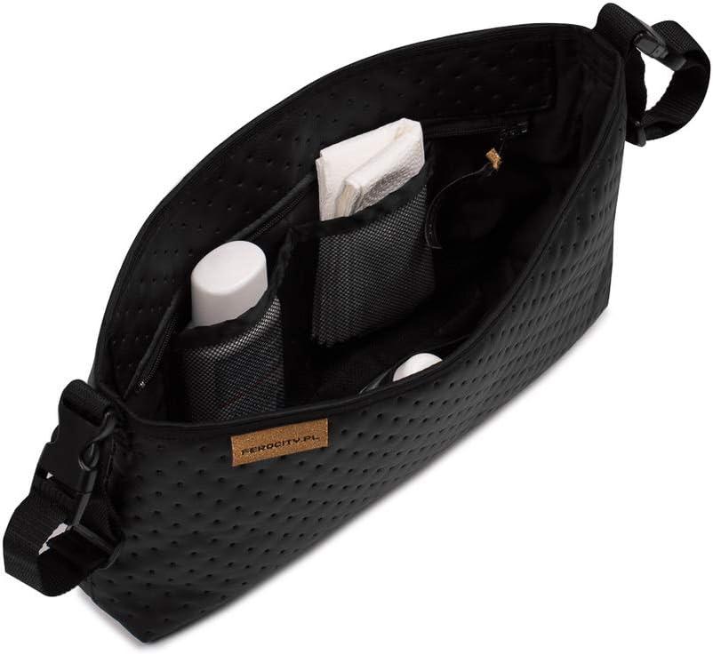 bolsas y juguetes color negro Ganchos Carrito Beb/é Pack de 1 universal para colgar pa/ñales 075