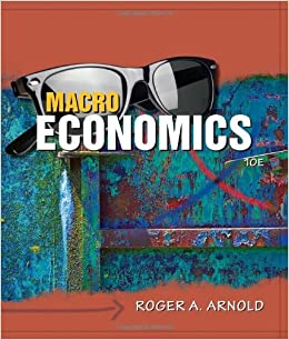 Economics 10th edition roger a. Arnold.