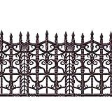 Beistle Creepy Fence Border, 24-Inch by 30-Feet