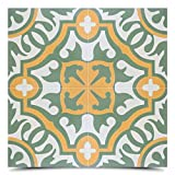 Moroccan Mosaic & Tile House CTP05-07 Baha Handmade Cement Tile