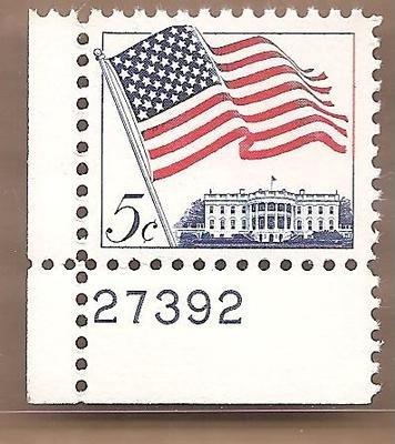 Postage Stamps US Flag 1208 MNH VF OG