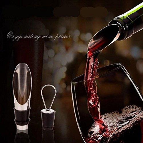 Wine Funnel Bottle Pourer Funnel Dumping Pourer C - 1