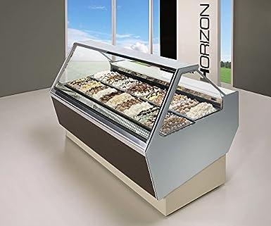Isa helado vitrina Horizon 120 - 1177: Amazon.es: Industria ...