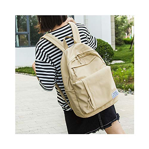 - Multifunction Women Backpack Youth Korean Style Shoulder Bag Laptop Backpack Schoolbags YELLOW