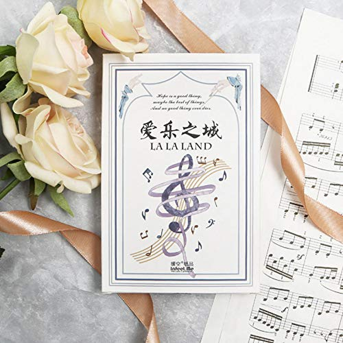 30 Pcs Lot Music City Musical Instruments Postcard Birthday Greeting Card Christmas Message New Year Gift Cards Amazon Industrial