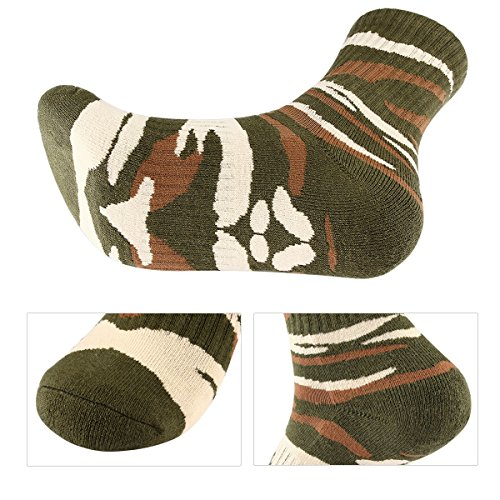 Amazon.com: 3 pares de calcetines de senderismo para hombre ...
