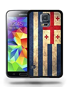 Ajaria National Vintage Flag Phone Case Cover Designs for Samsung Galaxy S5