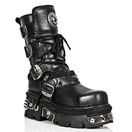 Nuovi Stivali Di Roccia M.373mt-c4 Hardrock Punk Gotica Unisex Stiefel Schwarz