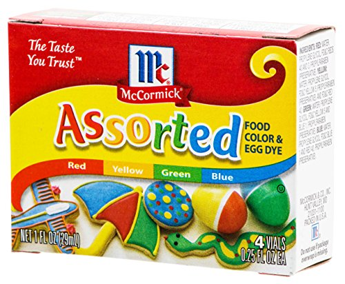 Assorted Food Coloring Set