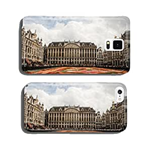 BRUSSELS, AUGUST 2014 : Flower Carpet in Grand Place on August 1 cell phone cover case iPhone6