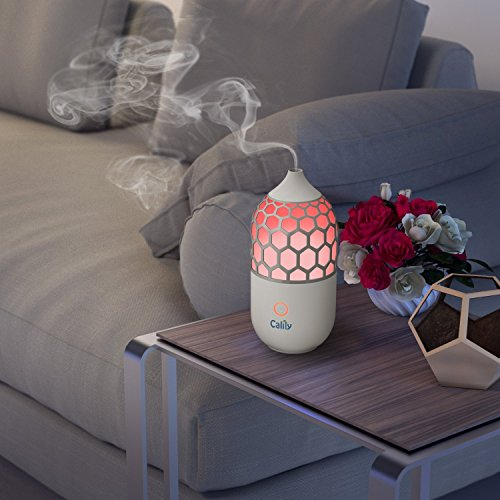 Calily Eternity Ultrasonic Essential Oil Diffuser Aromatherapy with Relaxing & Soothing Multi-Color LED Light - Perfect for Home, Office, Spa, Etc. [UPGRADED VERSION]