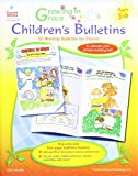 img - for Growing in Grace Children s Bulletins, Ages 3 - 6: 52 Worship Bulletins for Church book / textbook / text book