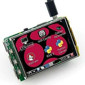 Yongse 3.2 pulgadas TFT LCD de pantalla táctil Módulo Para Frambuesa Pi B B A