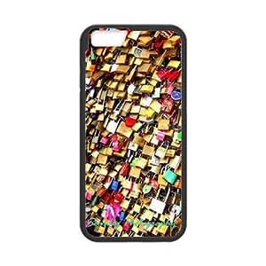 "Clzpg Unique Design Iphone6 4.7"" Case - Love Lock diy shell phone case"