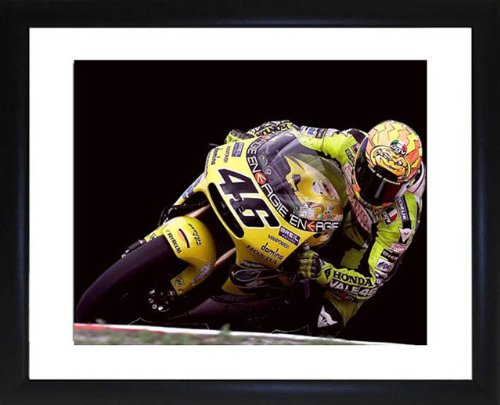 (Valentino Rossi Framed Photo)