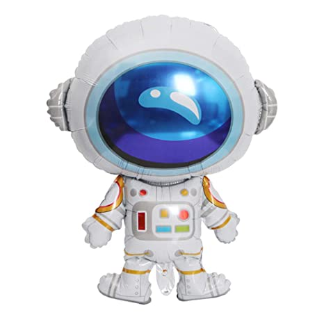 Amazon.com: JANOU Astronaut Rocket globos de dibujos ...