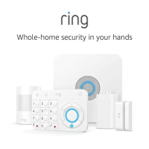 Certified Refurbished Ring Alarm 5 Piece Kit (1st Gen) – Home Security System with optional 24/7 Professional Monitoring – No long-term contracts – Works with Alexa