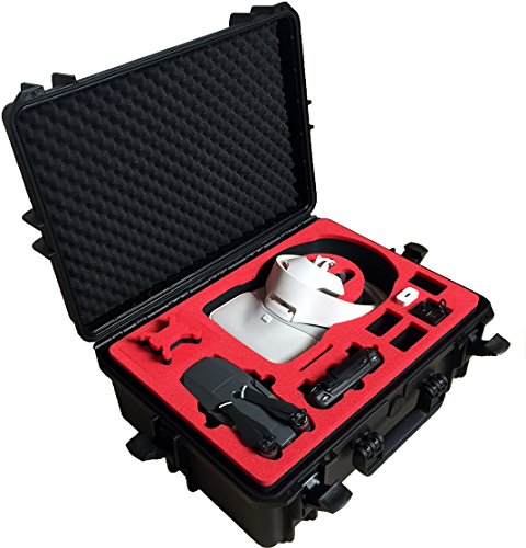 Professional Carrying Case for DJI Goggles (also racing edition) and DJI Mavic Pro and Platinum - 100% Water and dust proofed - by MC-CASES
