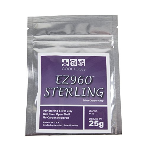 Cool Tools - EZ960 Sterling Silver Clay - 25 (Clay Silver Kiln)