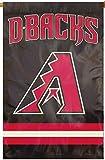 Rico Industries, Inc. Arizona Diamondbacks 2sided PA BANNER Premium Applique Embroidered Flag Baseball
