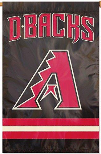 Arizona Diamondbacks Banner - Rico Industries, Inc. Arizona Diamondbacks 2sided PA BANNER Premium Applique Embroidered Flag Baseball