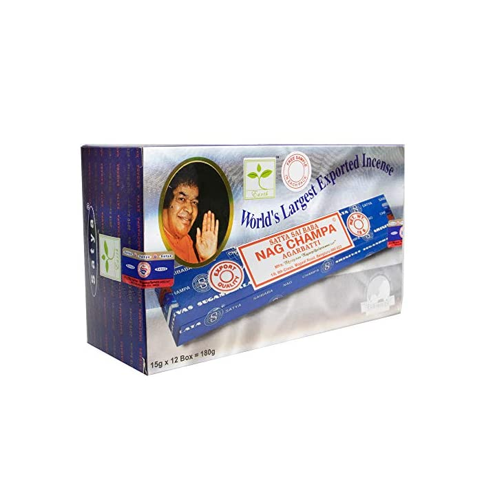 51XNzOzlgFL Satya Nagchampa Incense Sticks(15gms x 12 Packs)