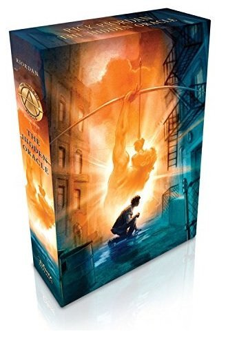 The Trials of Apollo The Hidden Oracle (Slip-case Special Limited Edition) autographed by Rick Riordan (Autographed Set)