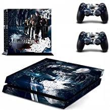 FINAL FANTASY STYLISH DESIGN VYNIL DECAL FOR SONY PS4 AND CONTROLLER SET