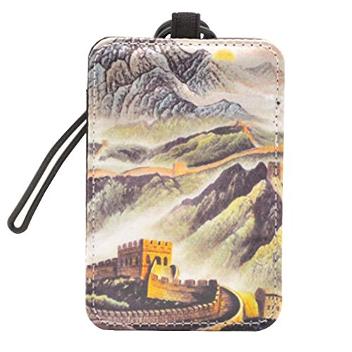 Chinese Style Luggage Tag Suitcase Luggage Tag Travel Luggage Tag #5 by Black Temptation