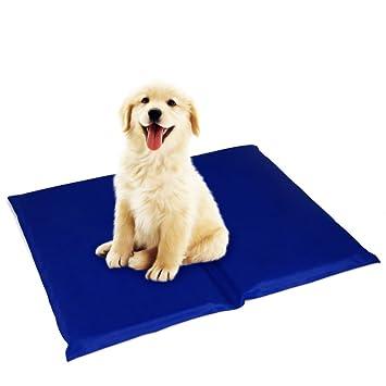 XULO Alfombra De Enfriamiento De Mascotas De Verano para Perros Y Gatos Alfombrilla De Gel De