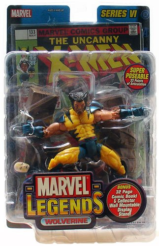 Marvel Legends Wolverine (Unmasked Variant) 5 Inch Action Figure Series VI]()