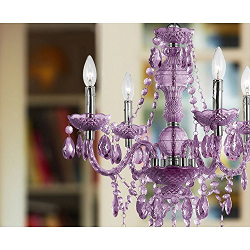 Af lighting 8353 4h naples four light mini chandelier light purple the af lighting 8353 4h naples four light mini chandelier is great to use in any dcor to bring that pop of color and fun crafted in cut plastic our 4 light aloadofball Gallery