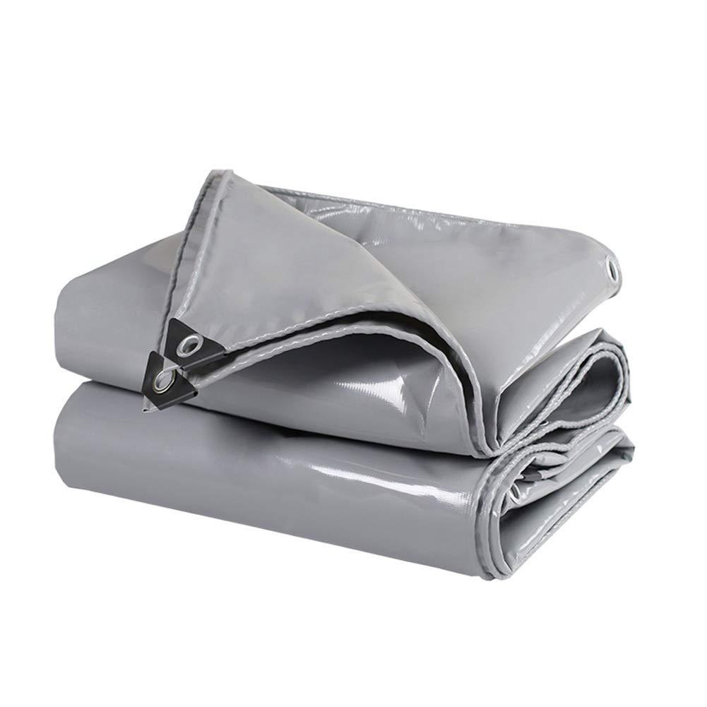 LIXIONG オーニング屋外の シェード 防水シート 引き裂き抵抗 保存料 酸化防止 防雨布、 16サイズ カスタマイズ可能 (色 : Gray, サイズ さいず : 2.8x5.8m) 2.8x5.8m Gray B07Q7XPSVN