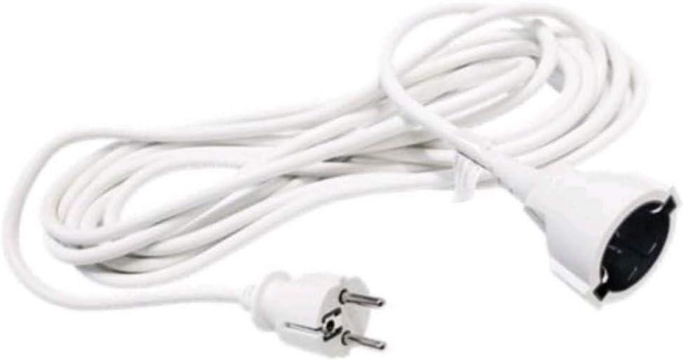 Acobonline Cable alargador//Cable Extensible 260V 50 HZ 3M-Negro