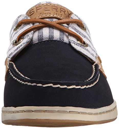 Sperry Top-sider Bluefish 2-eye Nubuck 9.276.619 Dame Mokassins Flåde YPqZK