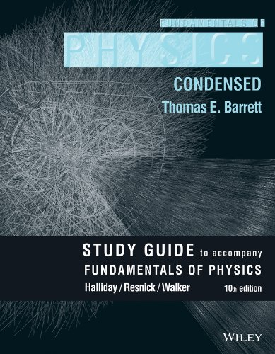Student Study Guide for Fundamentals of Physics, 10e