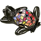 Quoizel TF6033VB Lounging Tiffany Frog Table Lamp - 1-Light - 7 Watts - Vintage Bronze (4
