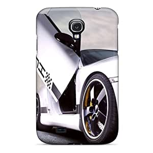 Galaxy S4 Cases Covers - Slim Fit Protector Shock Absorbent Cases (porsche At Night)