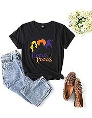 Womens Het is gewoon een stelletje Hocus Pocus Women Stay huis te redden T-shirt van Halloween