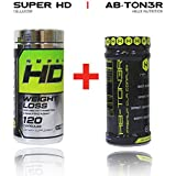 Cellucor Super Hd 120ct + Ab-ton3r: Is a Stimulant-free Metabolic Activating Formula Designed to Help Target Abdominal Fat, Tighten Mid-section, and Lower Cholesterol