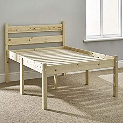 Super Double Pine Bed 4Ft Small Double Pine Bed Frame Heavy Duty Extra Wide Solid Base Slats Evergreenethics Interior Chair Design Evergreenethicsorg