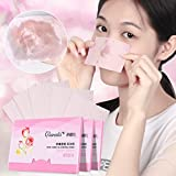 Japanese Facial Brush - LiPing 80PCS Sheets Make Up Oil Absorbing Blotting Facial Beauty Salon Device Skin Care Cleansing Tool Facial Cleansing Devices (Cherry)
