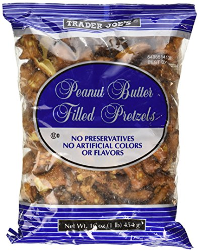 (Trader Joe's Peanut Butter Filled Pretzel 16oz (1lb))