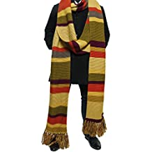 Doctor Who Scarf Season 16 -Official BBC Tom Baker 18 ft Long Scarf - by Lovarzi