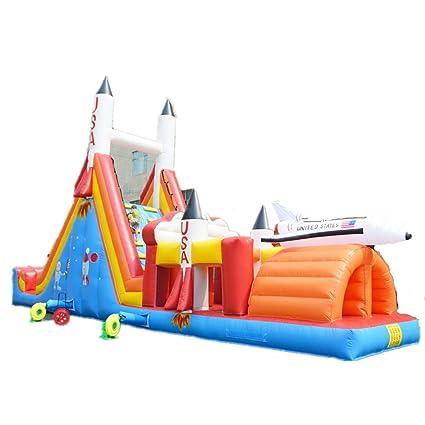 Amazon.com: Combo hinchable para niños y adultos, 45.9 x 9.8 ...