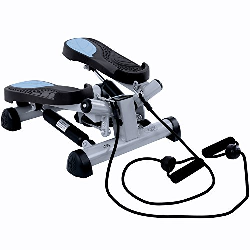 EFITMENT Twist Fitness Stepper Step Machine with Resistance Bands for Fitness Exercise – S023